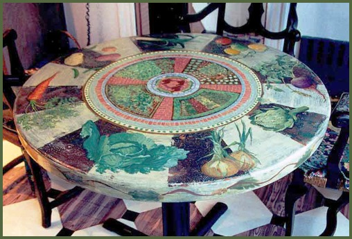 hand painted furniture, painted floor, painted decoration. 978, 781, 603, 508